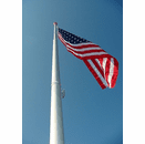 15ft PREMIUM Telescoping Push Button Aluminum Flagpole