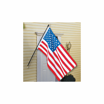 6ft Fiberglass Outrigger Home Mount Flagpole