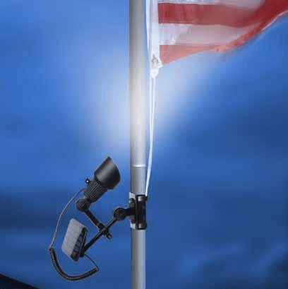 Flagpole Solar Up Lighting