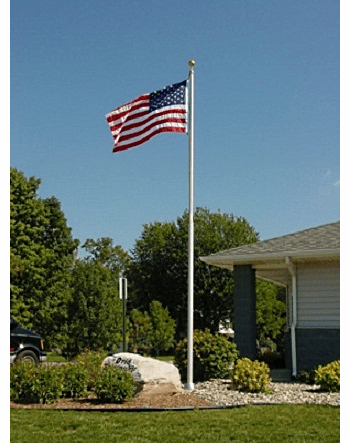 Heavy Duty Sectional Flagpoles