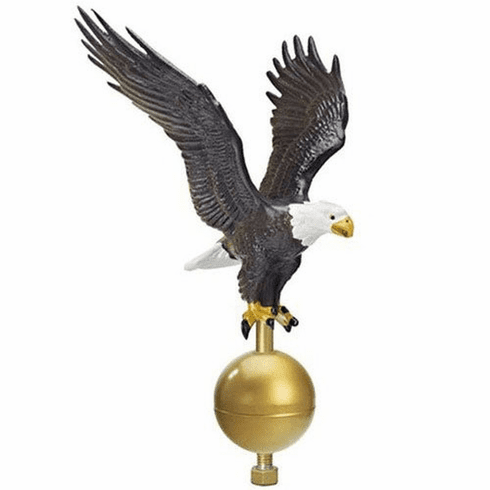 MED NATURAL EAGLE 15ft-25ft Flagpoles