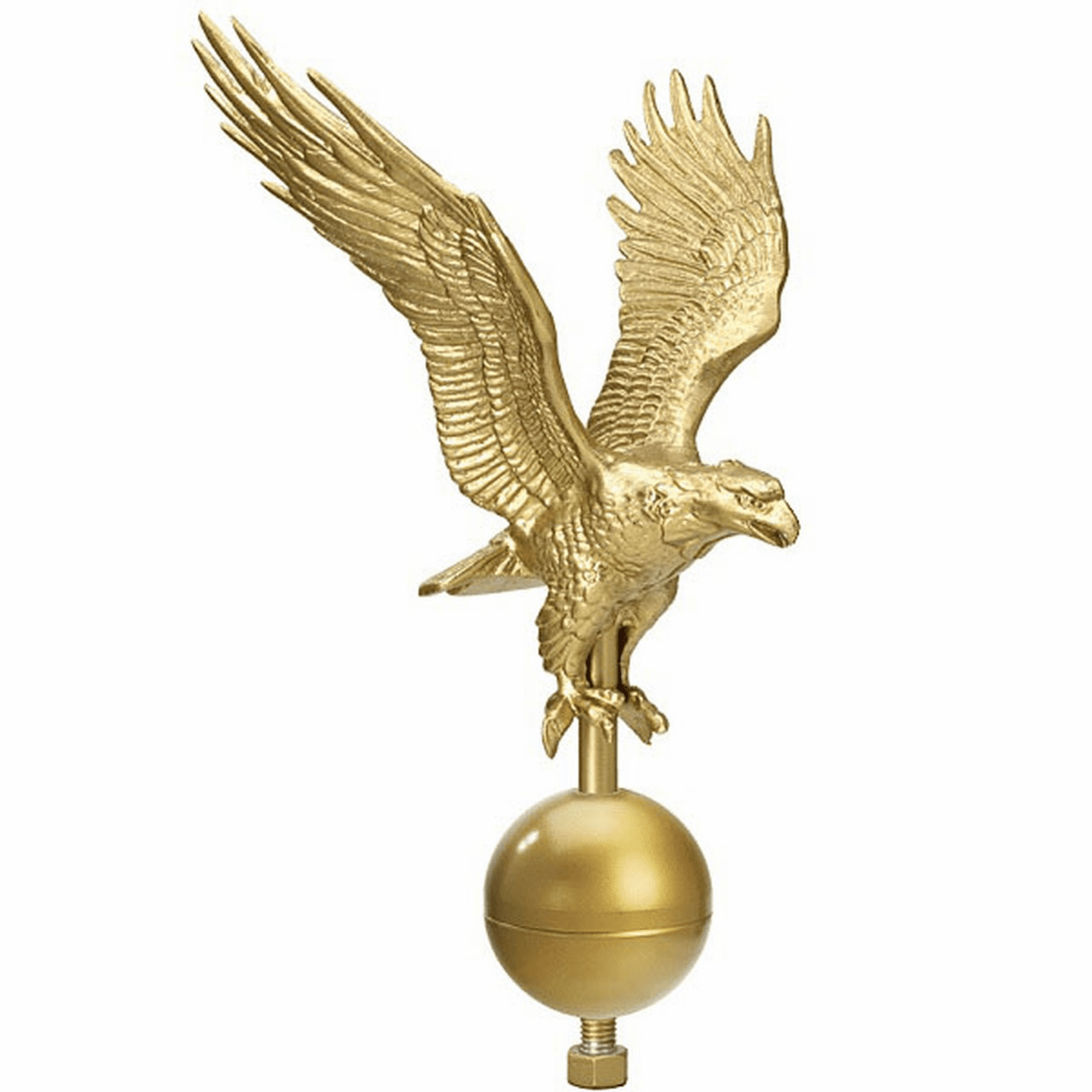MEDIUM GOLD EAGLE 15ft-25ft Flagpoles