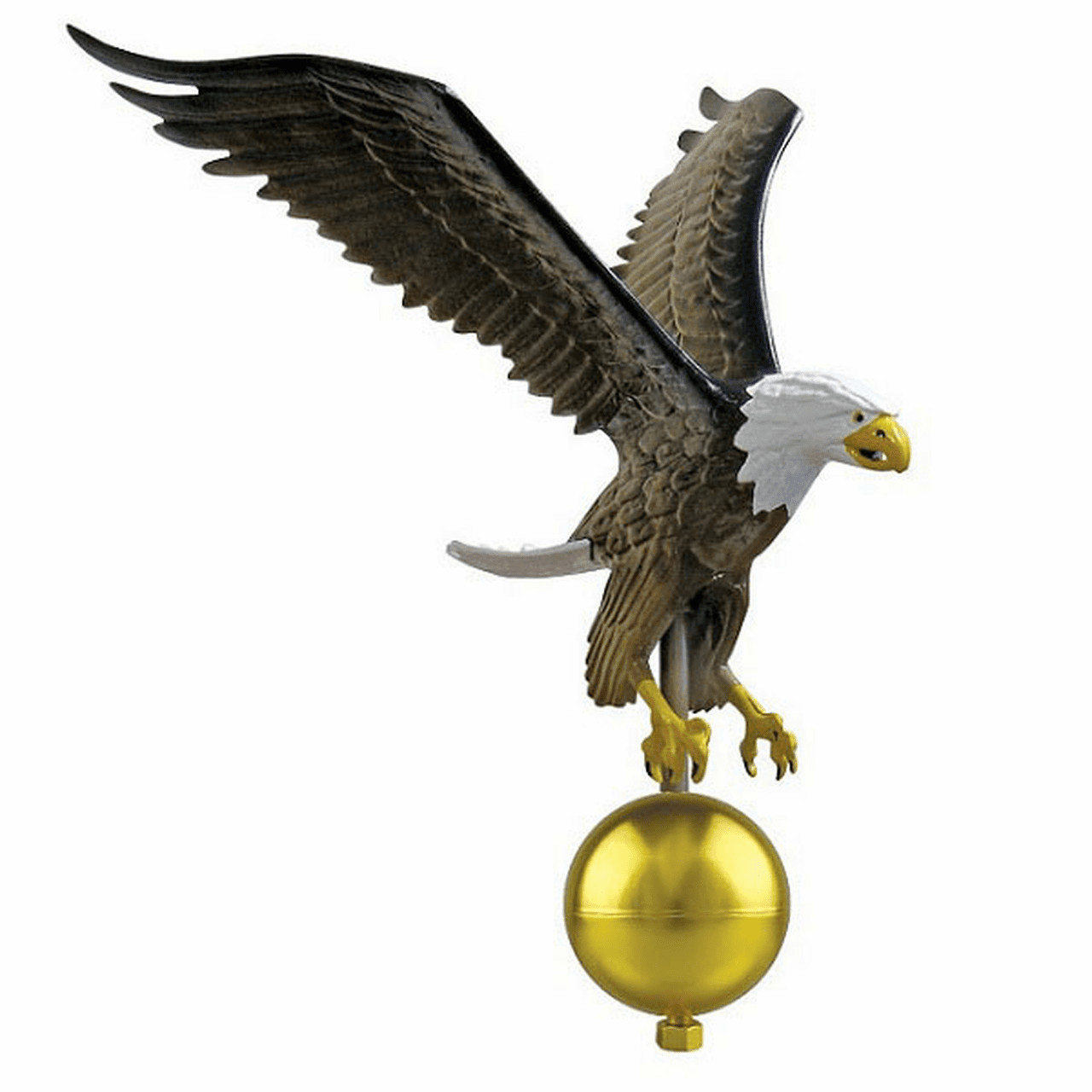 Natural Eagle Aluminum Finials