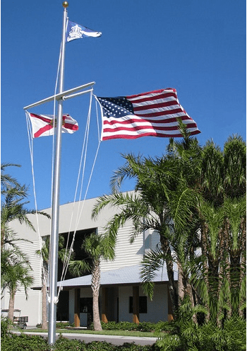 Nautical Aluminum Flagpoles