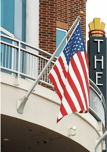 Outrigger Mount Flagpoles