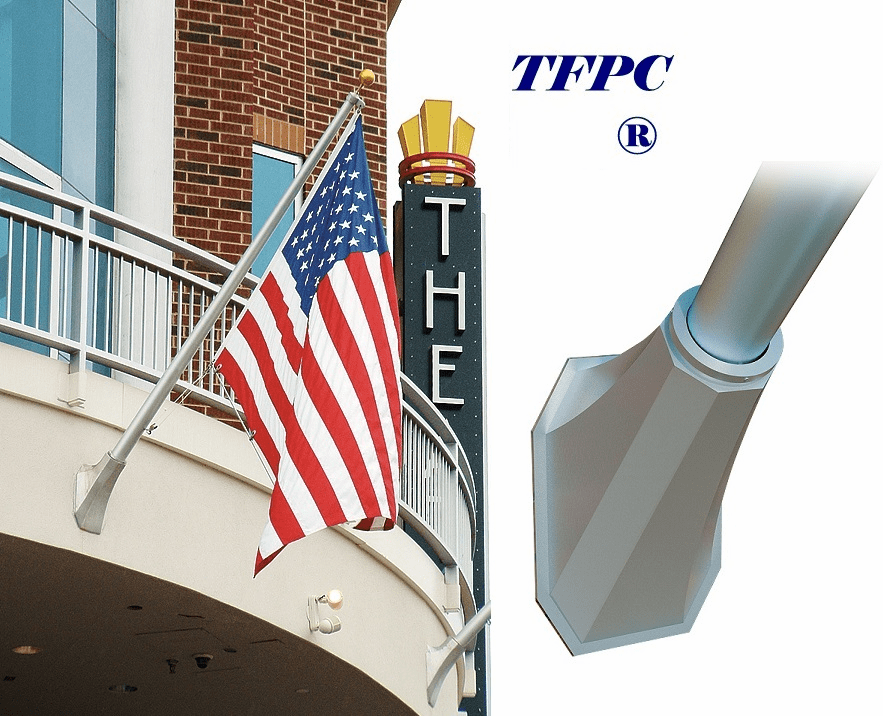 OUTRIGGER OCTAGON FLAGPOLES