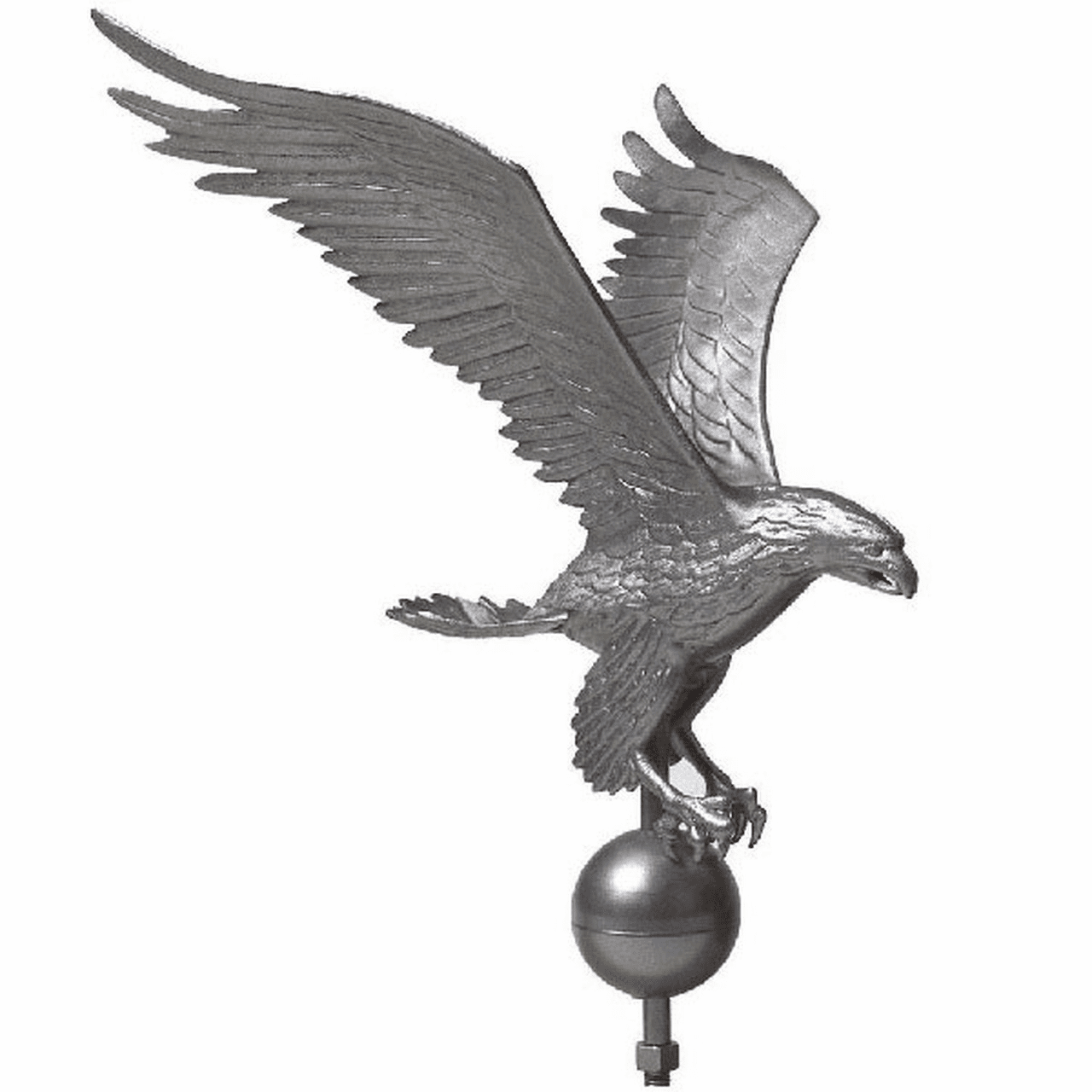PEWTER EAGLE 25ft-40ft Flagpoles