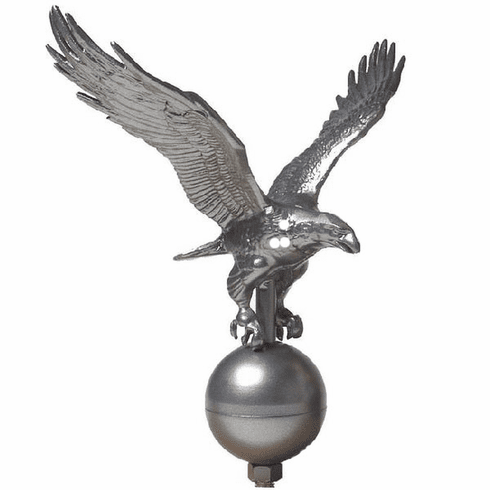 PEWTER EAGLE 15ft-25ft Flagpoles