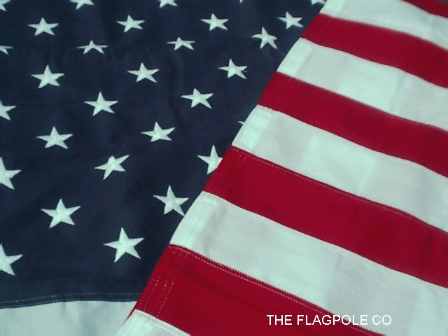 POLY II U.S. EMBROIDERED  AMERICAN FLAGS