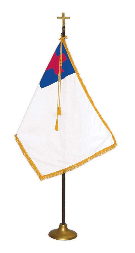 Religious Indoor Flag Sets   FREE SHIPPING  View Prices