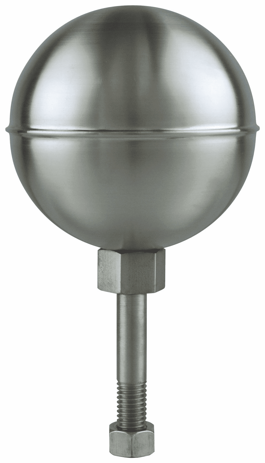 Stainless Steel Satin Finish Ball Finials