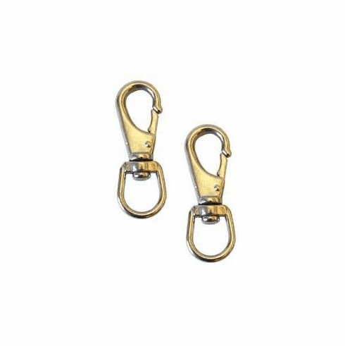 Stainless Steel Snap Hooks 3-1/4 (2 snap hooks pair) No Covers Available #92257