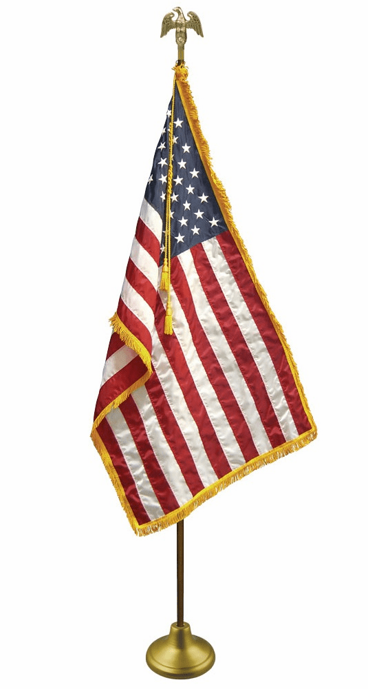 U.S. Indoor/Parade Flag Set  FREE SHIPPING! View Prices