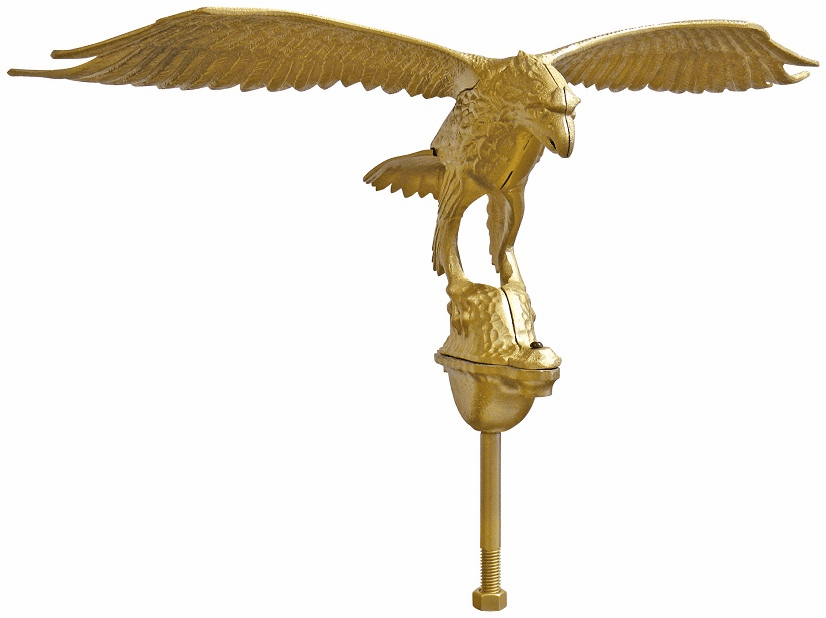X-LARGE GOLD EAGLE 40ft-80ft Flagpoles