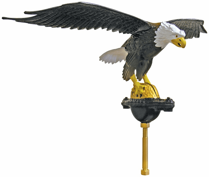 XX-LARGE NATURAL EAGLE 40ft-80ft Flagpoles