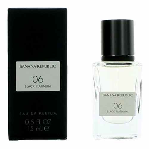 06 Black Platinum by Banana Republic, 0.5 oz Eau De Parfum Spray for Unisex