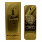 1 Million by Paco Rabanne, 3.4 oz Pure Parfum Spray for Men