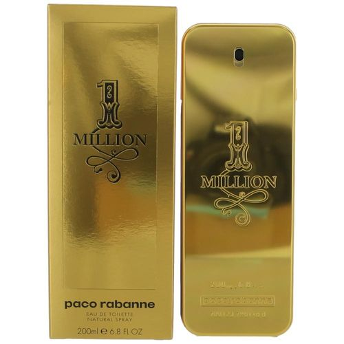 1 Million by Paco Rabanne, 6.8 oz Eau De Toilette Spray for Men