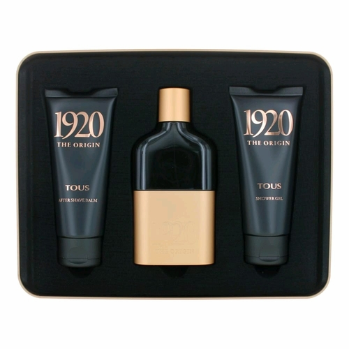 1920 The Origin by Tous, 3 Piece Gift Set for Men