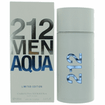 212 Aqua by Carolina Herrera, 3.4 oz Eau De Toilette Spray Limited Edition for Men