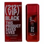 212 VIP Black RED Limited Edition by Carolina Herrera, 3.4 oz Eau De Parfum Spray for Men