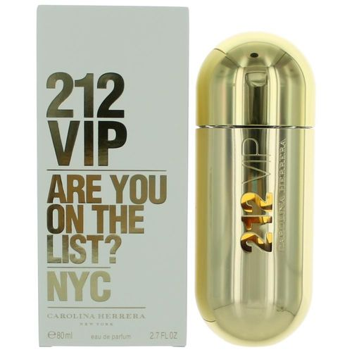 212 VIP by Carolina Herrera, 2.7 oz Eau De Parfum Spray for Women