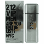 212 VIP by Carolina Herrera, 3.4 oz Eau De Toilette Spray for Men