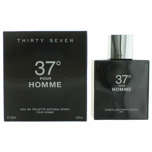 37 Degrees by Karen Low, 3.7 oz Eau De Toilette Spray for Men