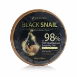 3W Clinic 98% Black Snail Natural Soothing Gel  300g/10.58oz