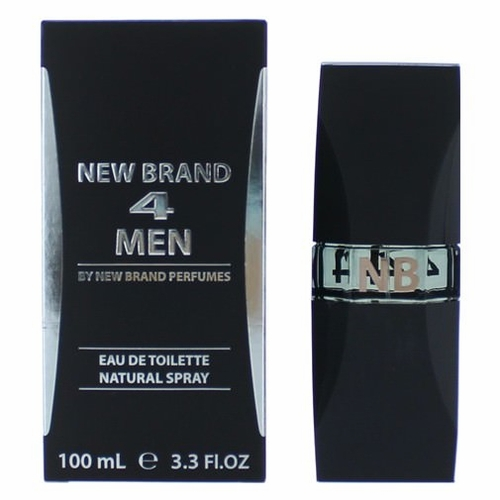 4 Men by New Brand, 3.3 oz Eau De Toilette Spray for Men