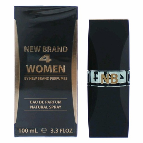 4 Women by New Brand, 3.3 oz Eau De Parfum Spray for Women