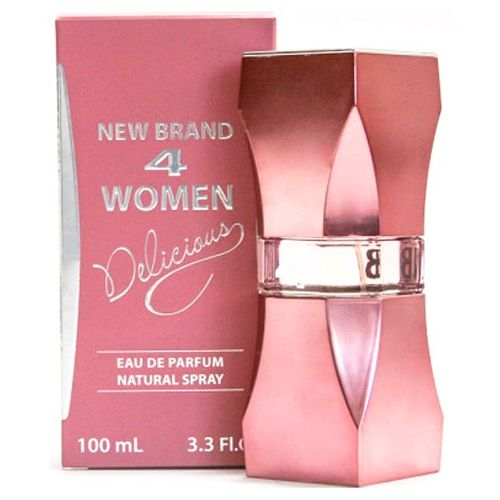 4 Women Delicious by New Brand, 3.3 oz Eau De Parfum Spray for Women