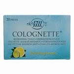 4711 by Muelhens, 20 Piece Colognette Refreshing Lemon Tissue