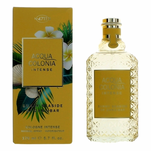 Acqua Colonia Intense Sunny Seaside of Zanzibar by 4711, 5.7 oz Cologne Intense Spray Unisex