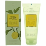 Acqua Colonia Lemon & Ginger by 4711, 6.8 oz Shower Gel for Unisex