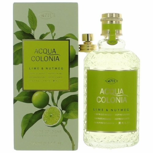 Acqua Colonia Lime & Nutmeg by 4711, 5.7 oz Eau de Cologne Splash/Spray for Unisex