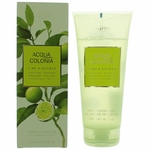 Acqua Colonia Lime & Nutmeg by 4711, 6.8 oz Shower Gel for Unisex