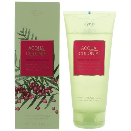 Acqua Colonia Pink Pepper and Grapefruit by 4711, 6.8 oz Shower Gel for Unisex