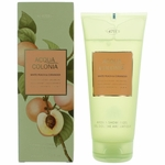 Acqua Colonia White Peach & Coriander by 4711, 6.8 oz Shower Gel for Unisex