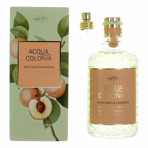 Acqua Colonia White Peach & Corriander by 4711, 5.7 oz Eau De Cologne Spray for Women