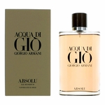 Acqua Di Gio Absolu by Giorgio Armani, 6.7 oz Eau De Parfum Spray for Men