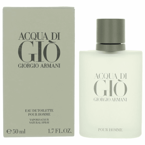 Acqua Di Gio by Giorgio Armani, 1.7 oz Eau De Toilette Spray for Men