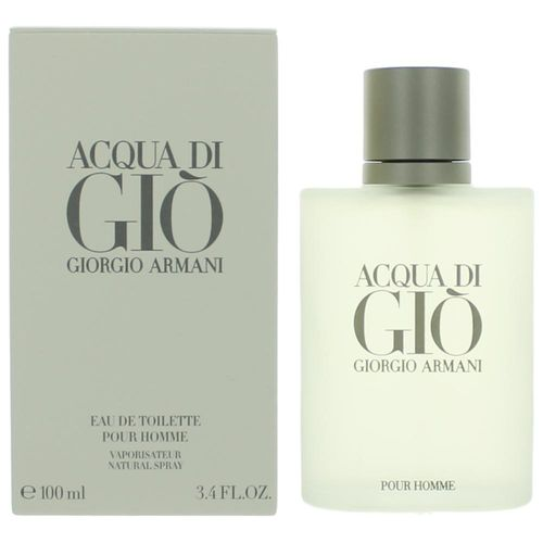 Acqua Di Gio by Giorgio Armani, 3.4 oz Eau De Toilette Spray for Men