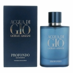 Acqua Di Gio Profondo by Giorgio Armani, 2.5 oz Eau De Parfum Spray for Men