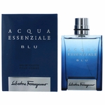 Acqua Essenziale BLU by Salvatore Ferragamo, 3.4 oz Eau De Toilette Spray for Men