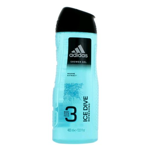 Adidas Ice Dive by Adidas, 13.5 oz 3 in 1 Shower Gel for Men