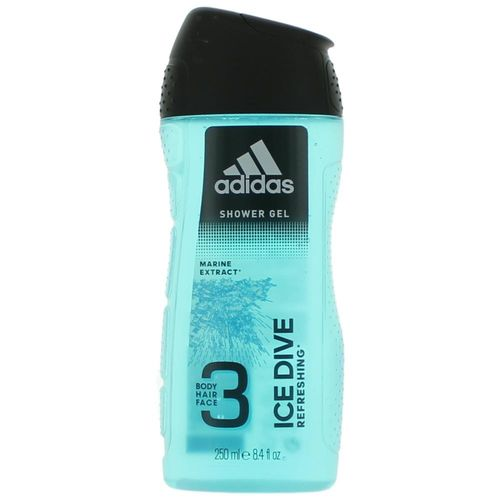 Adidas Ice Dive by Adidas, 8.4 oz Shower Gel for Men