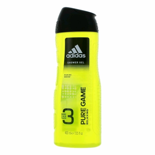 Adidas Pure Game by Adidas, 13.5 oz 3 in 1 Shower Gel for Men