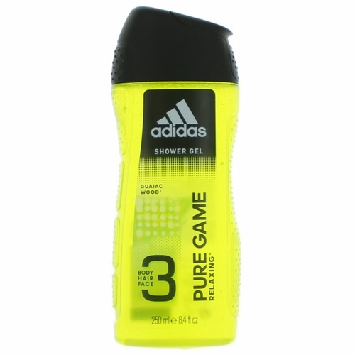 Adidas Pure Game by Adidas, 8.4 oz Shower Gel for Men