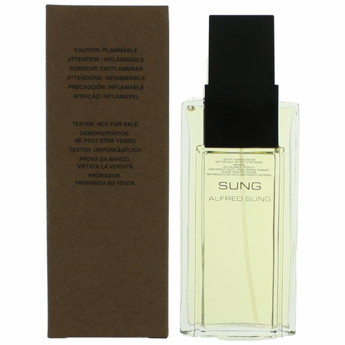Alfred Sung by Alfred Sung, 3.4 oz Eau De Toilette Spray for Women Tester